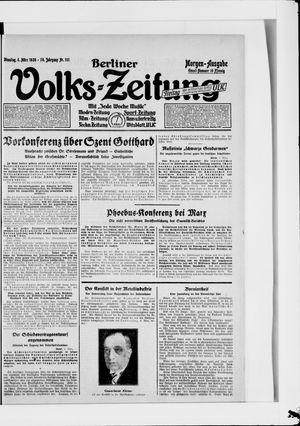 Berliner Volkszeitung on Mar 6, 1928