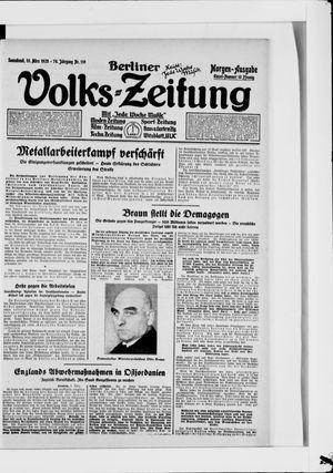 Berliner Volkszeitung vom 10.03.1928