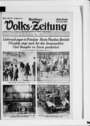 Berliner Volkszeitung vom 12.03.1928