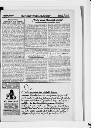 Berliner Volkszeitung vom 15.03.1928