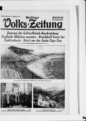 Berliner Volkszeitung vom 16.03.1928