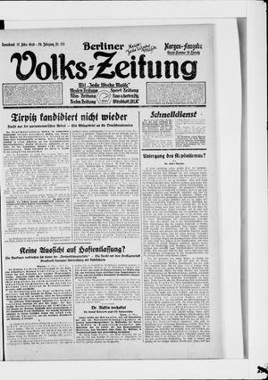 Berliner Volkszeitung vom 17.03.1928