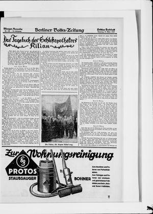 Berliner Volkszeitung vom 18.03.1928