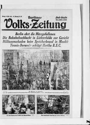 Berliner Volkszeitung vom 19.03.1928