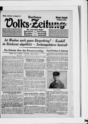 Berliner Volkszeitung vom 21.03.1928