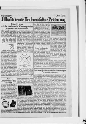 Berliner Volkszeitung vom 22.03.1928