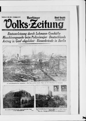 Berliner Volkszeitung vom 24.03.1928