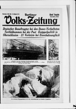 Berliner Volkszeitung vom 29.03.1928