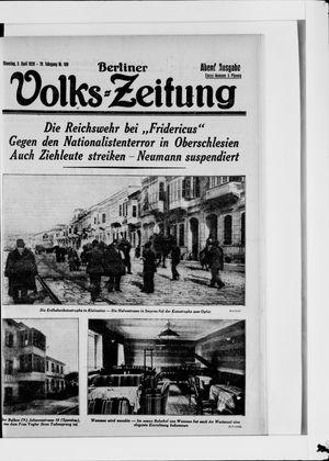 Berliner Volkszeitung vom 03.04.1928