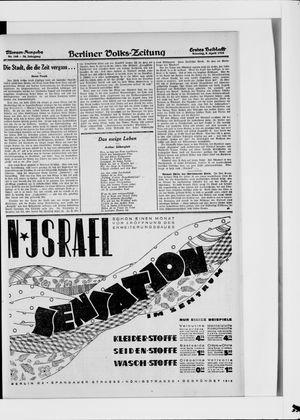 Berliner Volkszeitung on Apr 8, 1928