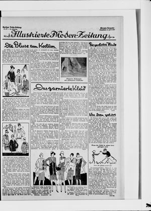 Berliner Volkszeitung vom 14.04.1928