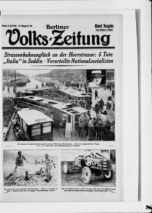 Berliner Volkszeitung vom 16.04.1928