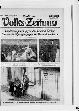 Berliner Volkszeitung vom 18.04.1928