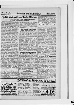 Berliner Volkszeitung vom 22.04.1928