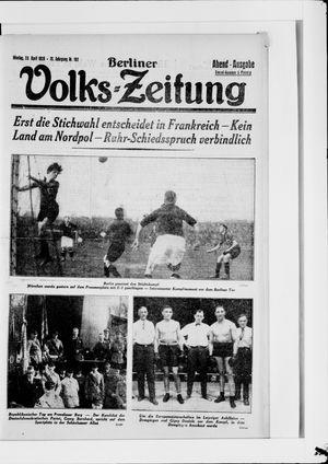Berliner Volkszeitung vom 23.04.1928
