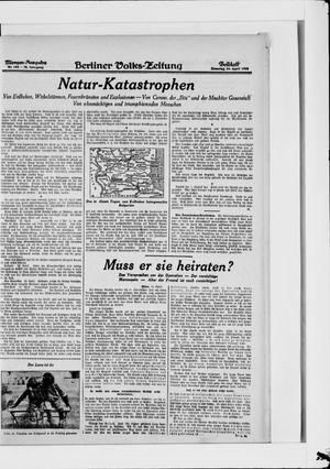 Berliner Volkszeitung vom 24.04.1928