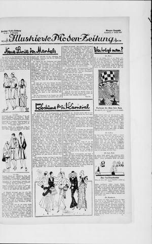 Berliner Volkszeitung vom 19.01.1929