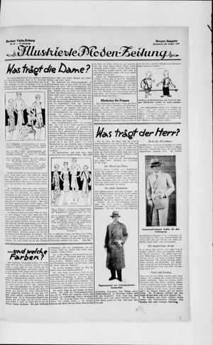 Berliner Volkszeitung vom 26.01.1929