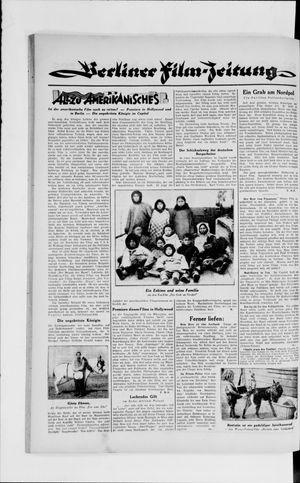 Berliner Volkszeitung vom 30.01.1929