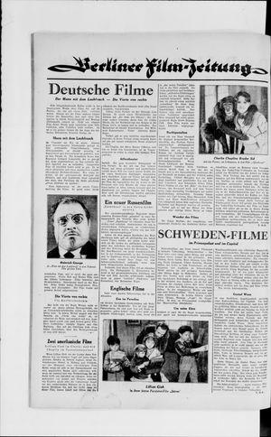 Berliner Volkszeitung vom 06.02.1929