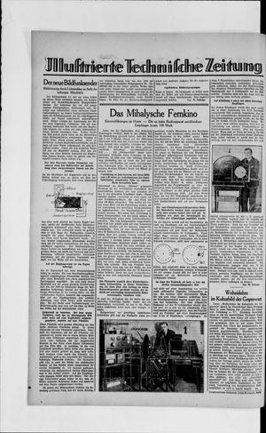 Berliner Volkszeitung vom 07.03.1929