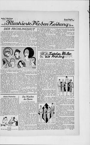 Berliner Volkszeitung vom 09.03.1929