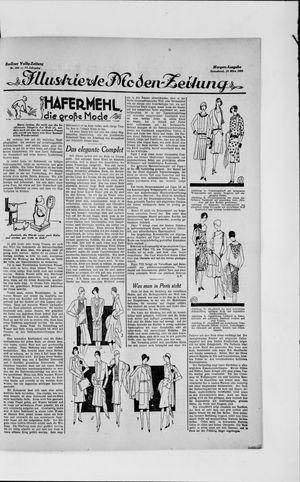 Berliner Volkszeitung vom 16.03.1929