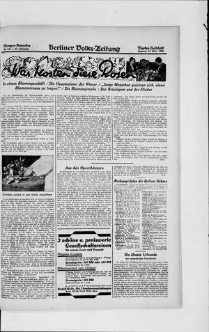 Berliner Volkszeitung vom 17.03.1929