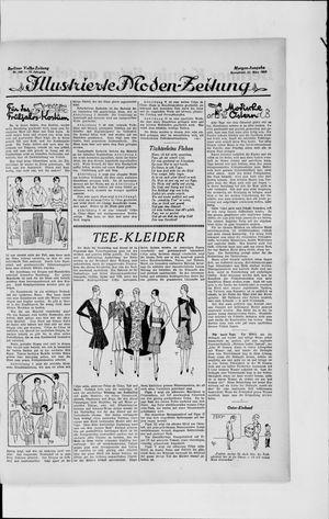 Berliner Volkszeitung vom 23.03.1929