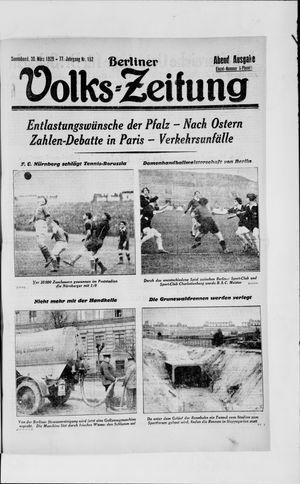 Berliner Volkszeitung vom 30.03.1929