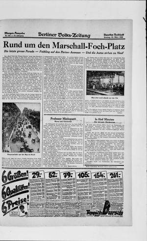Berliner Volkszeitung vom 31.03.1929