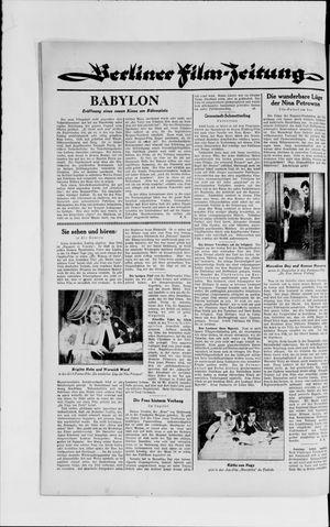 Berliner Volkszeitung vom 17.04.1929