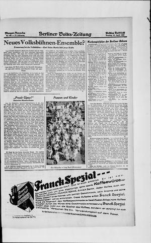 Berliner Volkszeitung vom 21.04.1929