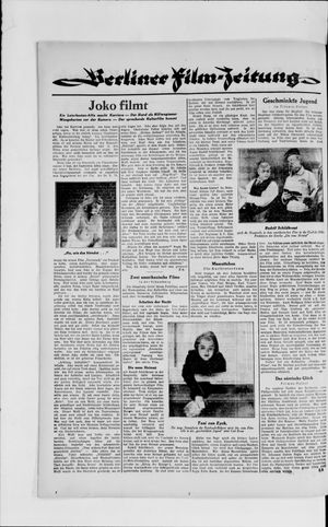 Berliner Volkszeitung vom 24.04.1929