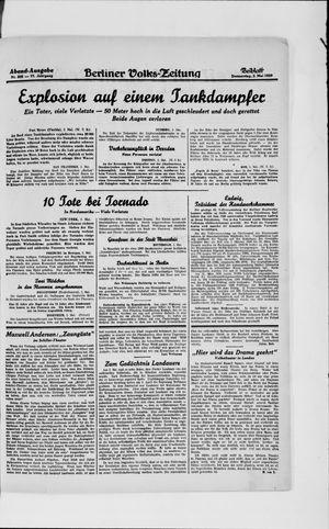 Berliner Volkszeitung vom 02.05.1929