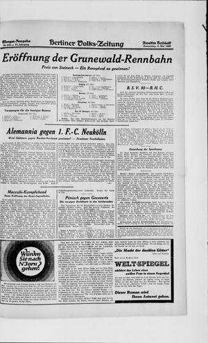 Berliner Volkszeitung vom 09.05.1929
