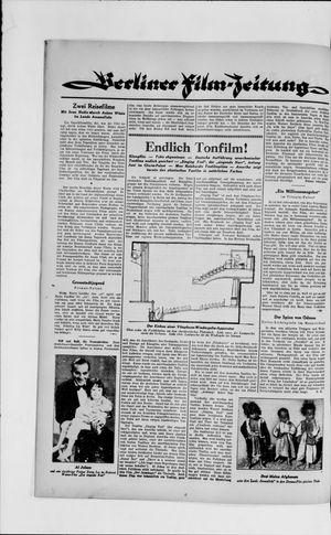 Berliner Volkszeitung vom 29.05.1929