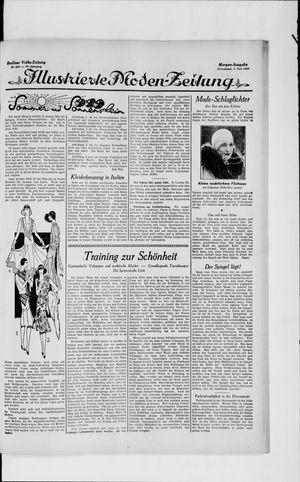 Berliner Volkszeitung vom 01.06.1929