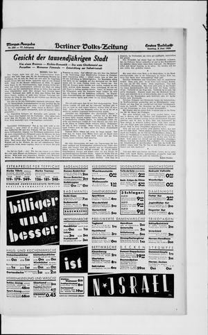 Berliner Volkszeitung vom 02.06.1929