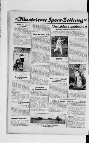 Berliner Volkszeitung vom 11.06.1929