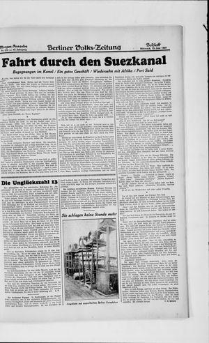 Berliner Volkszeitung vom 12.06.1929