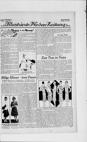 Berliner Volkszeitung vom 15.06.1929