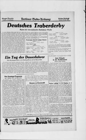 Berliner Volkszeitung vom 16.06.1929