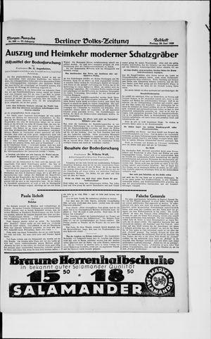 Berliner Volkszeitung vom 28.06.1929