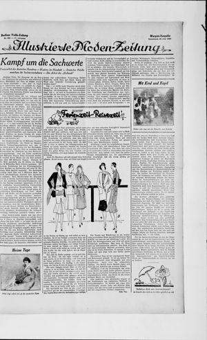 Berliner Volkszeitung vom 29.06.1929