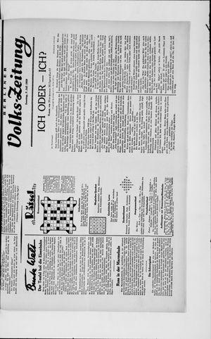 Berliner Volkszeitung vom 07.07.1929