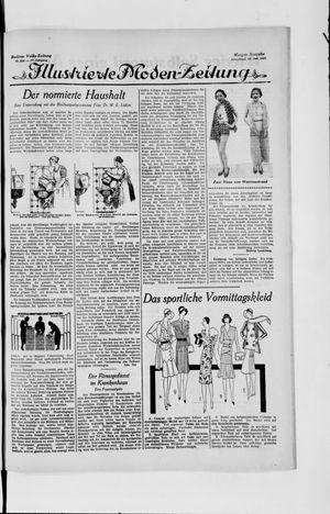 Berliner Volkszeitung vom 20.07.1929
