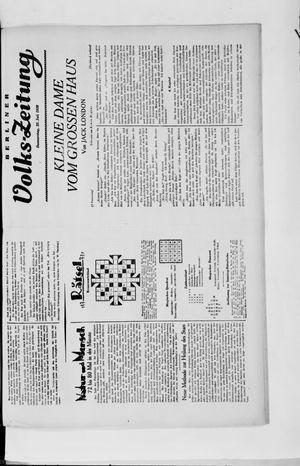 Berliner Volkszeitung vom 25.07.1929