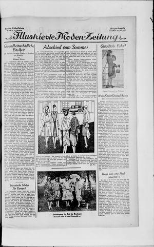Berliner Volkszeitung vom 27.07.1929