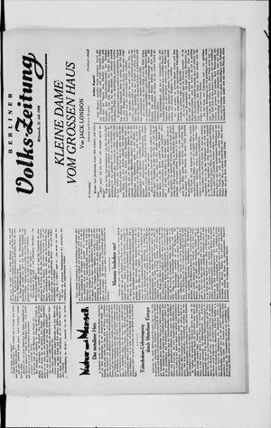 Berliner Volkszeitung vom 31.07.1929